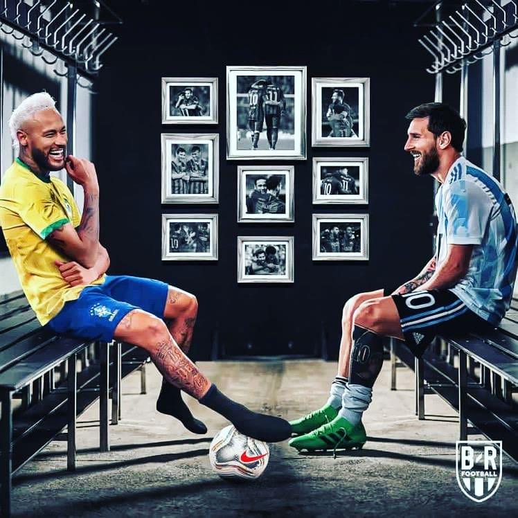 Brazil vs Argentina copa america final 2021
