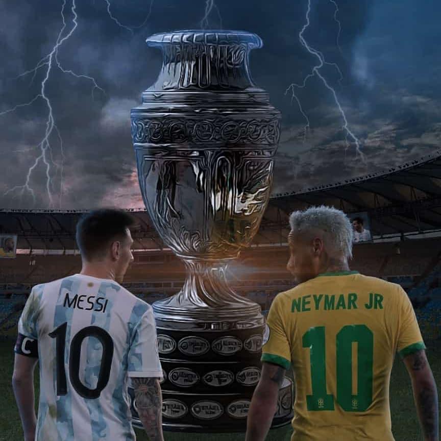 Brazil vs Argentina copa america final