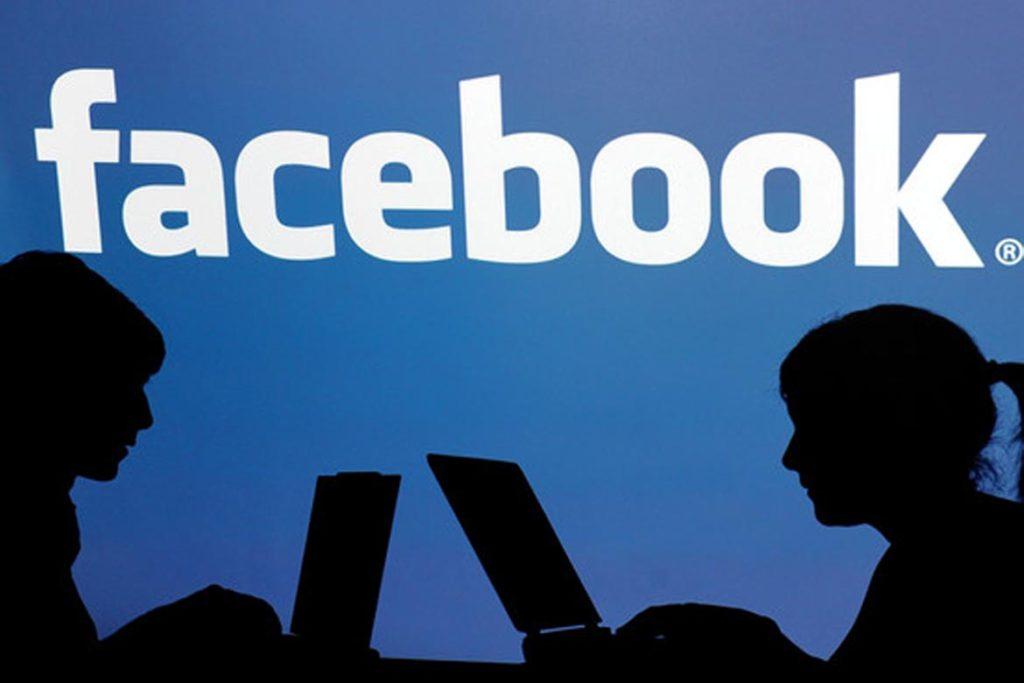 teens using facebook